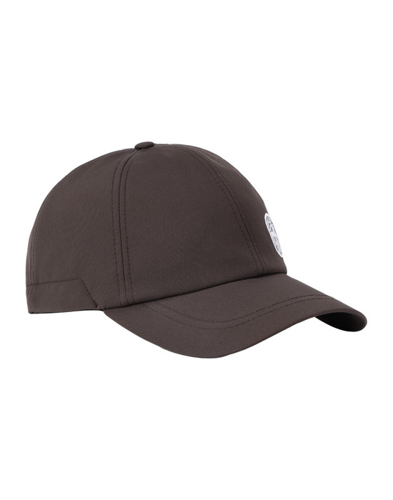 STONE ISLAND 99222 SOFT SHELL-R Cap Man Dark Brown