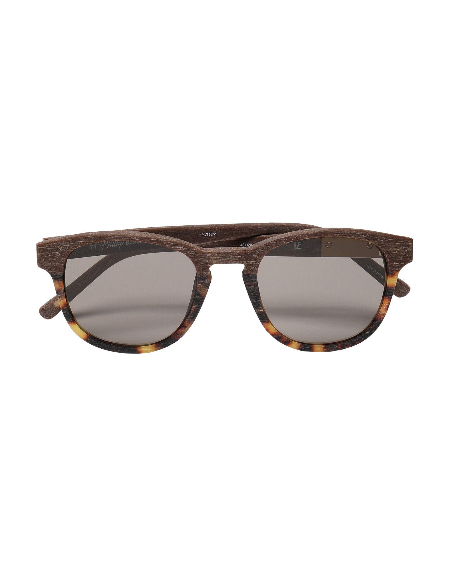 цена LINDA FARROW x 3.1 PHILLIP LIM Солнечные очки онлайн в 2017 году