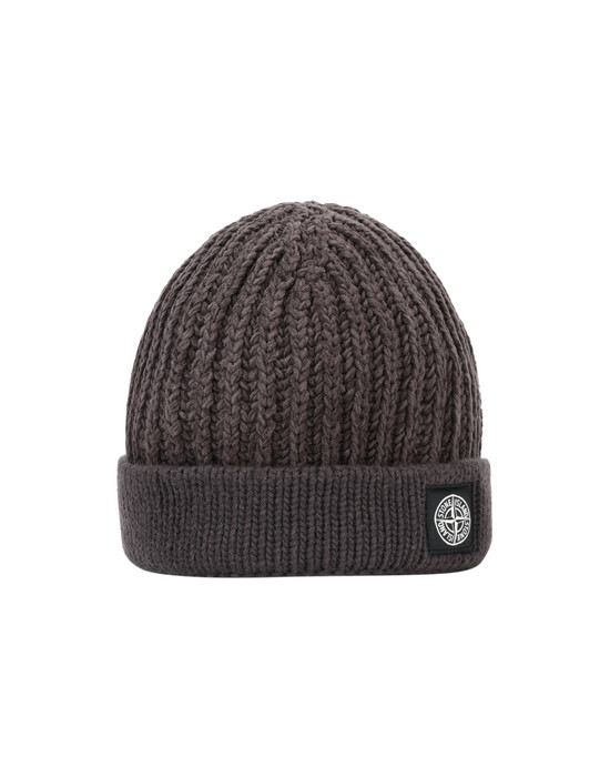 STONE ISLAND N02D4 Hat Man Dark Brown