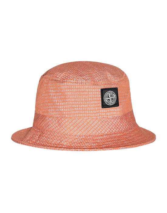 STONE ISLAND 99394 REFLECTIVE WEAVE RIPSTOP Cap Man Orange