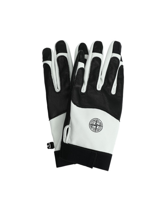 STONE ISLAND 92174 SOFT SHELL-R Gloves Man Dust Gray