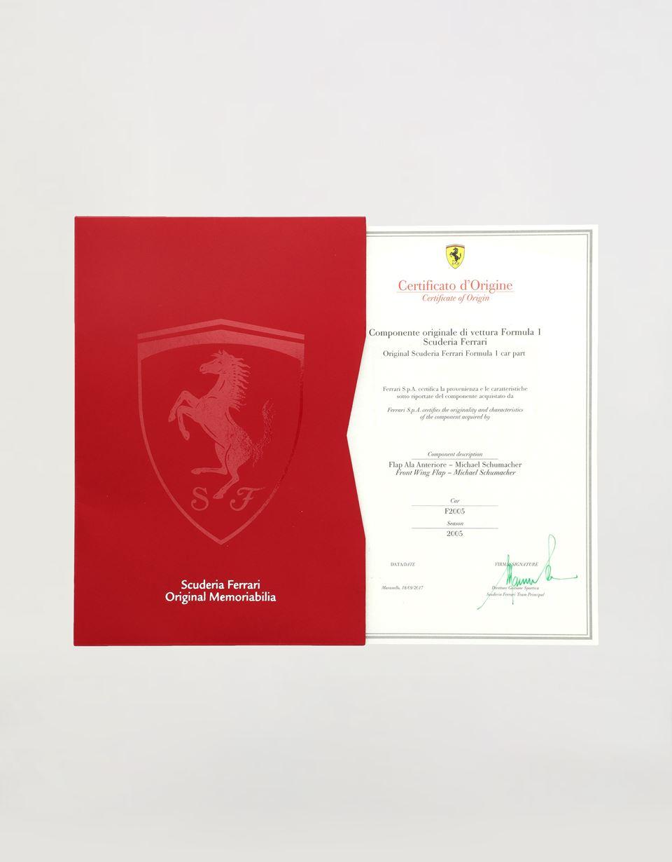 Scuderia Ferrari Online Store - F2005 Schumacher front wing - Memorabilia F1