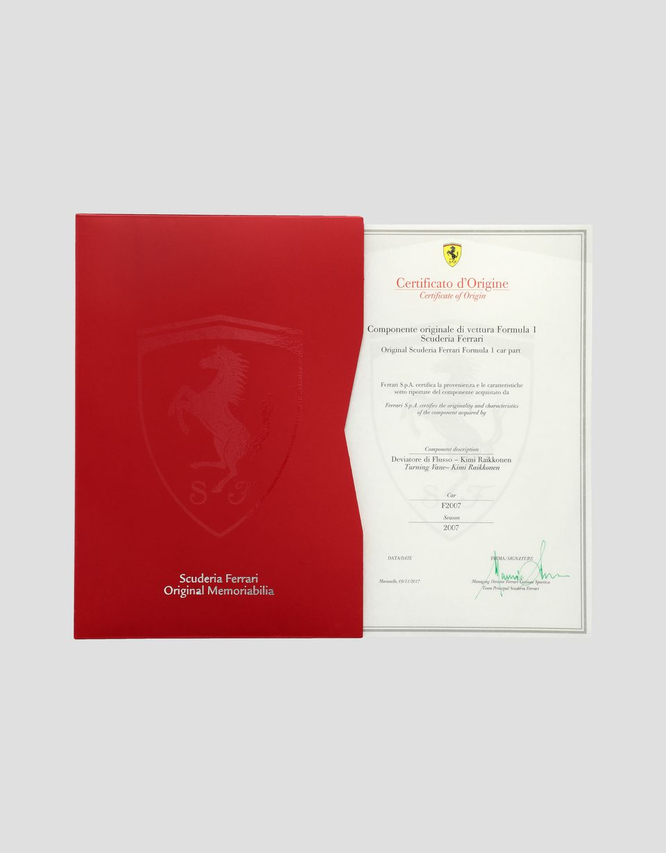 Scuderia Ferrari Online Store - F2007 Räikkönen deflector - Memorabilia F1