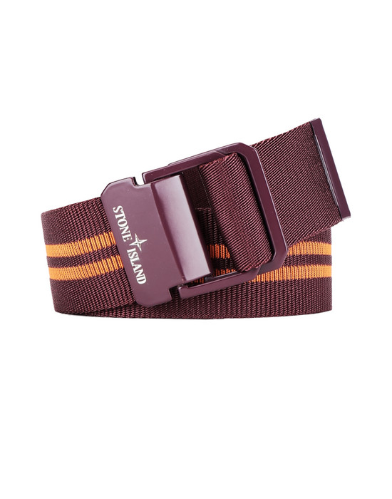 STONE ISLAND 94164 Belt Man Dark Burgundy