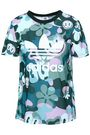 ADIDAS ORIGINALS Printed stretch-jersey T-shirt