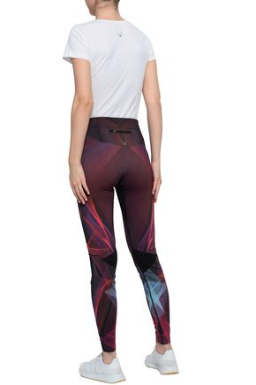 LUCAS HUGH Zenon printed stretch leggings