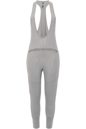 ADIDAS by STELLA McCARTNEY Snake-print stretch-jersey leggings