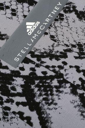 ADIDAS by STELLA McCARTNEY Snake-print stretch tank