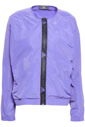 ADIDAS BY STELLA MCCARTNEY | Adidas By Stella Mccartney Gathered Shell Jacket | Goxip