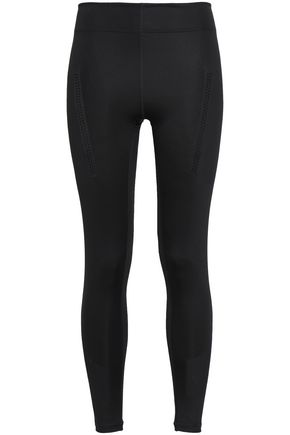 ADIDAS by STELLA McCARTNEY Perforated stretch leggings