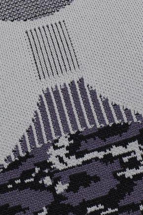 ADIDAS by STELLA McCARTNEY Jacquard-knit tank
