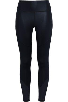 ADIDAS | Adidas Cropped Perforated Stretch Leggings | Goxip