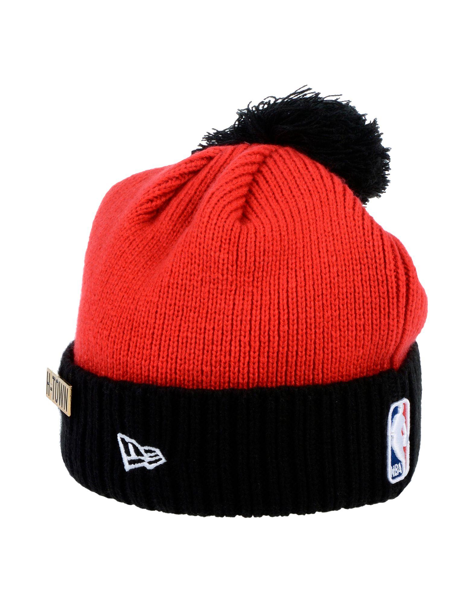 《期間限定 セール開催中》NEW ERA メンズ 帽子 レッド one size アクリル 100%