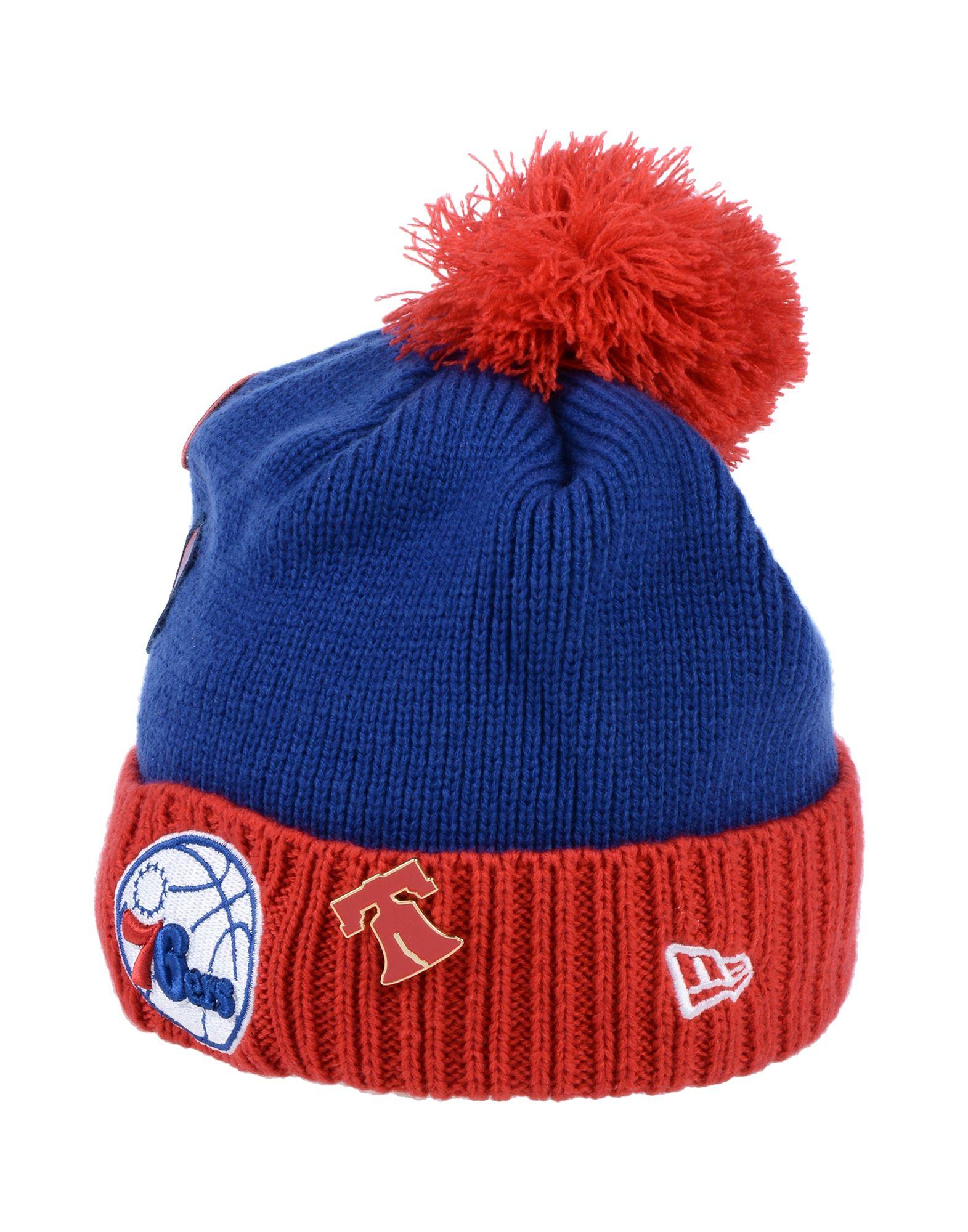 《期間限定 セール開催中》NEW ERA メンズ 帽子 ブルー one size アクリル 100%