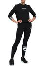 ADIDAS ORIGINALS Bossy 90's striped stretch-cotton leggings