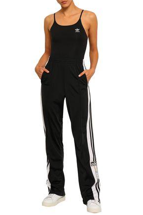 ADIDAS ORIGINALS Stretch-cotton jersey bodysuit