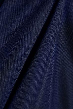 ADIDAS AtTEEtude striped fleece T-shirt
