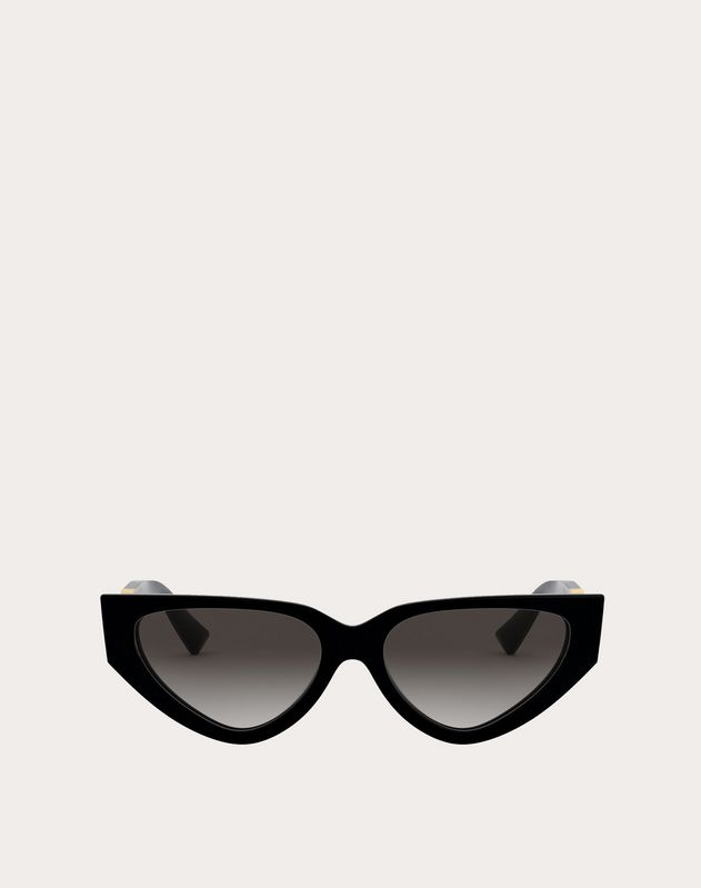 f07541061d710 ACETATE CAT-EYE SUNGLASSES WITH VLOGO