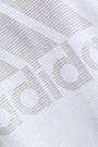 ADIDAS Printed cotton-jersey tank