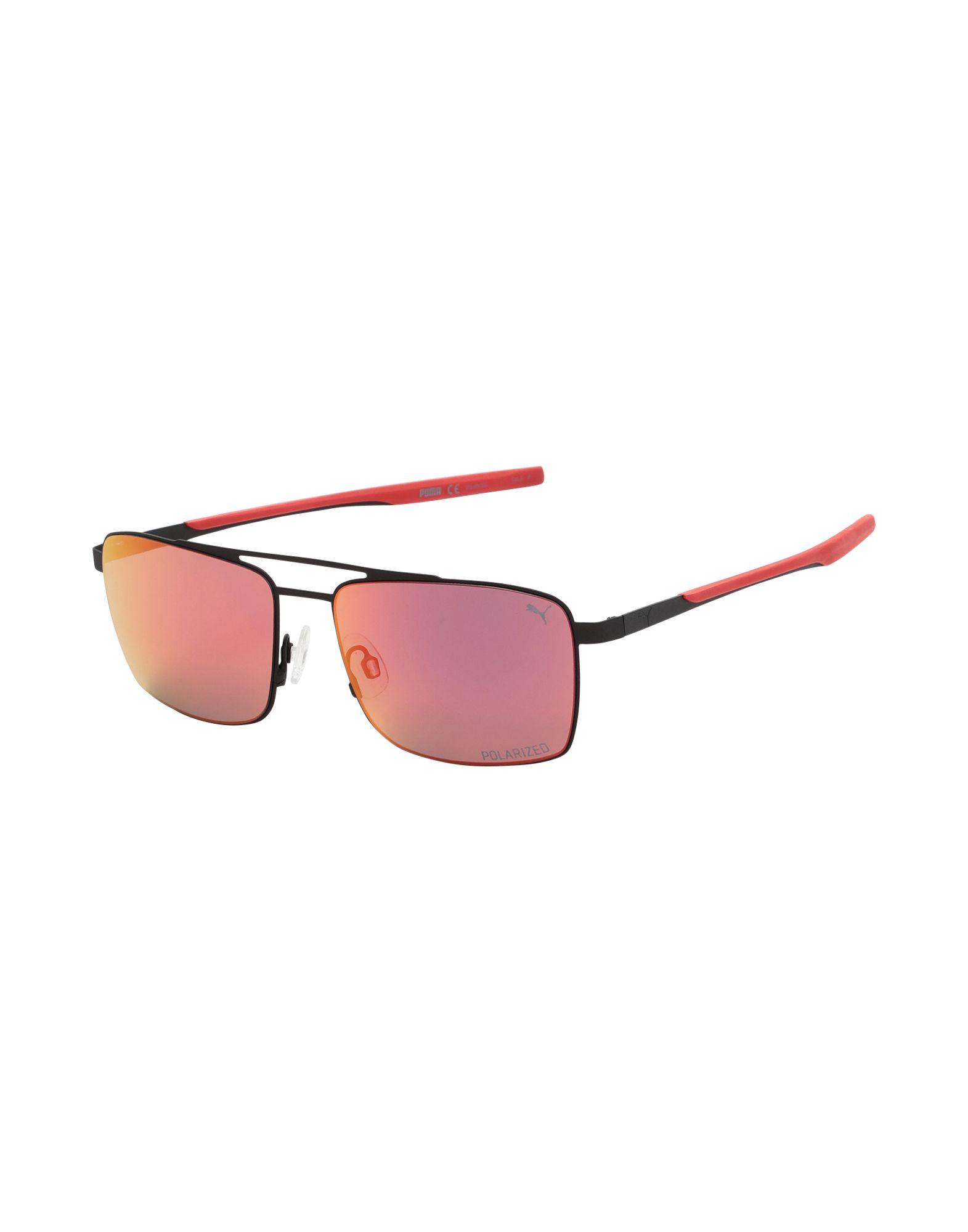 PUMA Солнечные очки arena tracks mirror арт 9237055 зеркальные линзы
