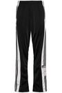ADIDAS ORIGINALS Striped tech-jersey track pants