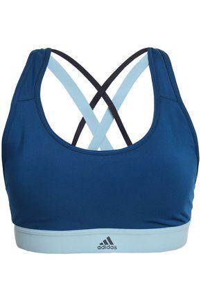ADIDAS Two-tone stretch sports bra