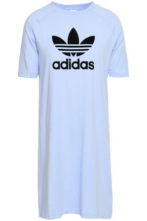 ADIDAS ORIGINALS Printed cotton-jersey dress