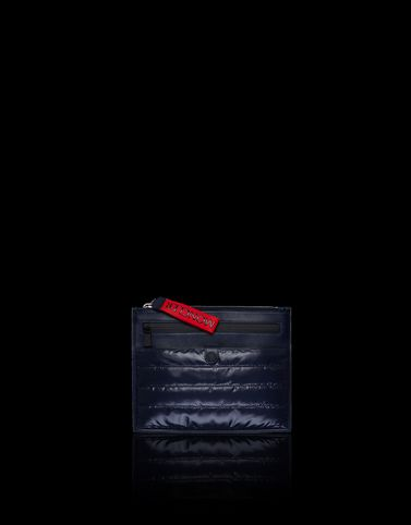 MONCLER POUCH LARGE - Clutches - men