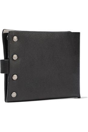 ANN DEMEULEMEESTER Studded leather wallet