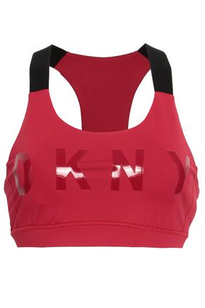 DKNY Coated stretch sports bra