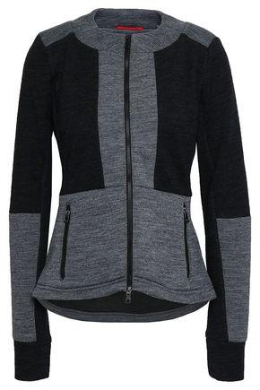 ERIN SNOW Aria two-tone merino wool-blend jacket