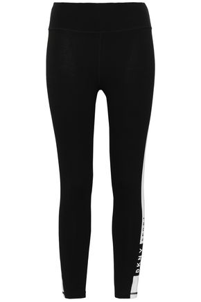 DKNY Stretch-cotton leggings