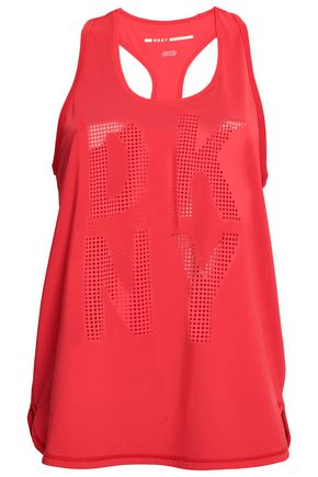 DKNY Perforated stretch tank