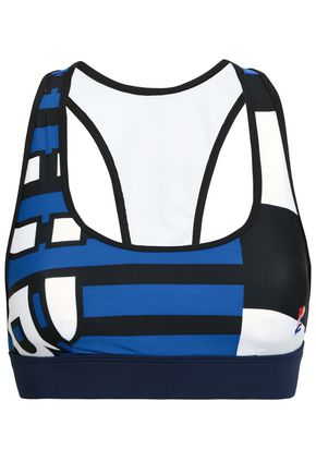 P.E NATION Printed stretch sports bra