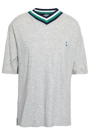 P.E NATION メランジ コットンジャージー Tシャツ