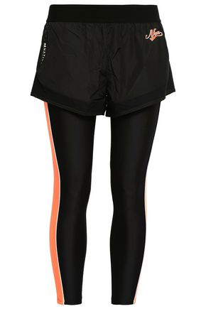 P.E NATION Layered shell and stretch leggings