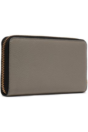 MARC JACOBS Pebbled-leather wallet