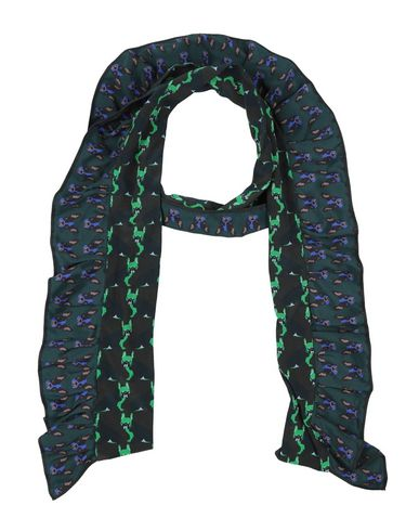 Фото - Женский шарф ODEEH темно-зеленого цвета