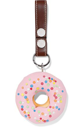 J.W.ANDERSON Embellished leather keychain