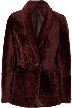 BRUNELLO CUCINELLI Shearling blazer