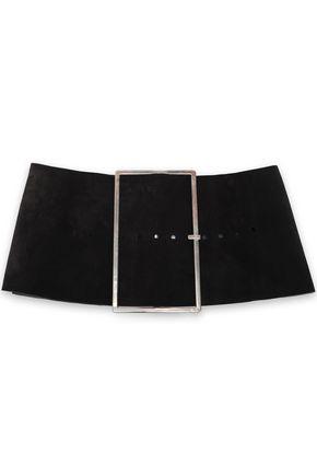 ANN DEMEULEMEESTER Suede waist belt