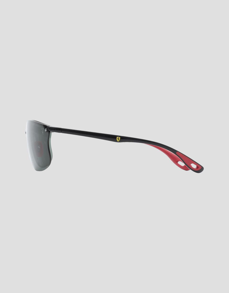 Scuderia Ferrari Online Store - Ray-Ban for Scuderia Ferrari red 0RB4322M - Sunglasses