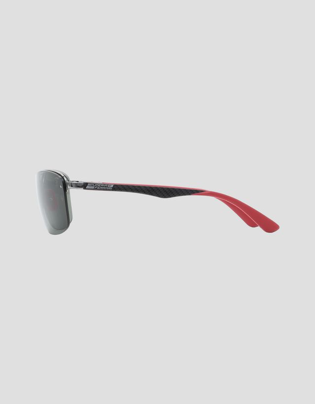 Scuderia Ferrari Online Store - Ray-Ban for Scuderia Ferrari Gold 0RB3617M - Sonnenbrillen