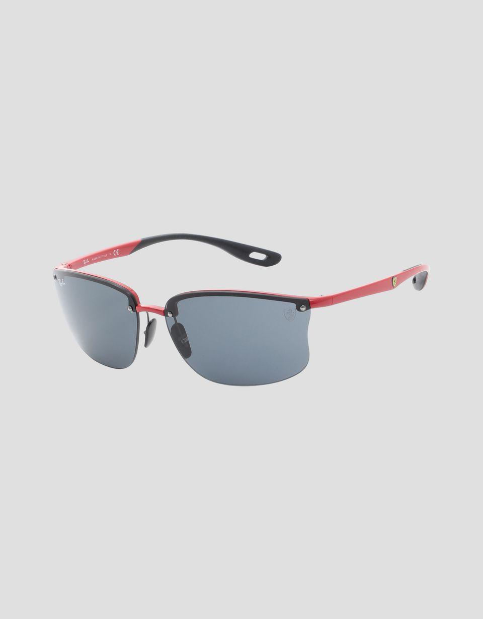Scuderia Ferrari Online Store - Red Ray-Ban x Scuderia Ferrari glasses 0RB4322M - Sunglasses