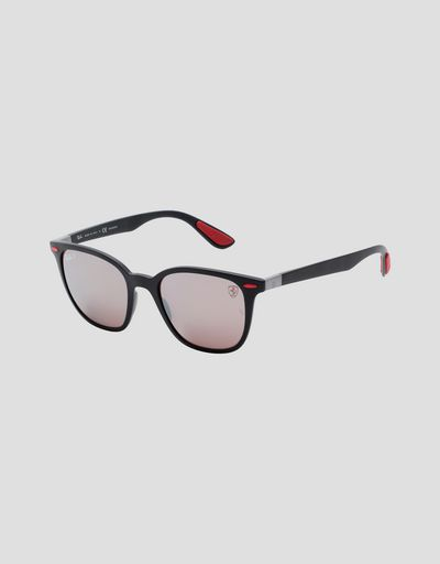 Ray-Ban for Scuderia Ferrari matte grey with polarised lenses 0RB4297M