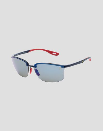 Ray-Ban for Scuderia Ferrari with Chromance polarized lenses 0RB4322M