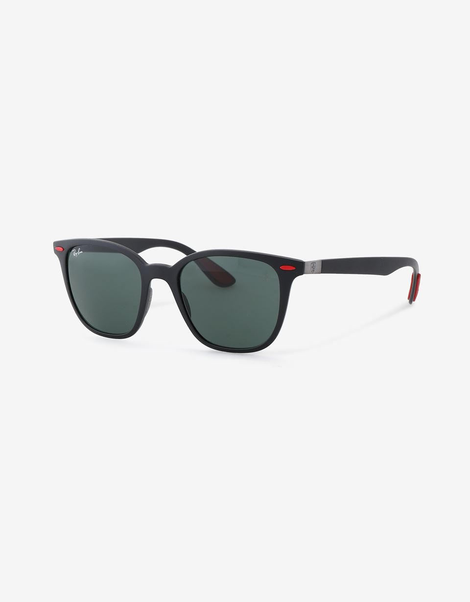 Scuderia Ferrari Online Store - Ray-Ban for Scuderia Ferrari with 0RB4322M Chromance polarised lenses - Sunglasses