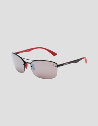 Scuderia Ferrari Online Store - Ray-Ban for Scuderia Ferrari with Chromance polarized lenses 0RB3617M - Sunglasses