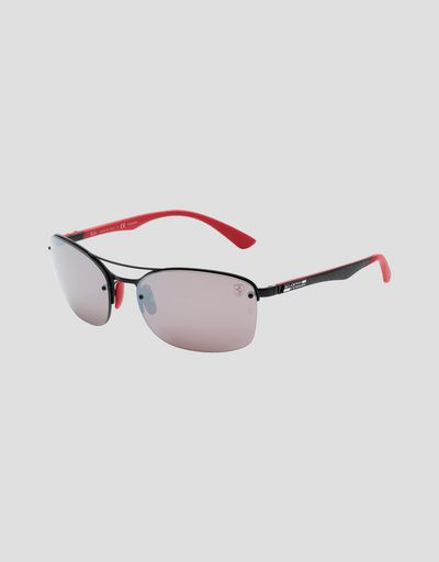 Ray-Ban for Scuderia Ferrari with Chromance polarized lenses 0RB3617M