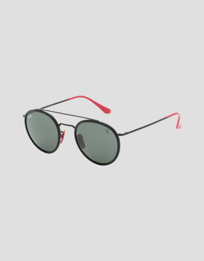 Ray-Ban for Scuderia Ferrari with 0RB3647M mirrored lenses